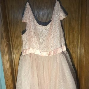 Light Pink sparkling prom/special event dress
